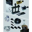 Windscreen wiper arm extractor, Support sockets for removal/refitting wheel bearings